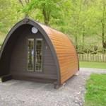 Camping pod at Swaleview Park