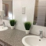 Shower and laundry facilities, new for 2017