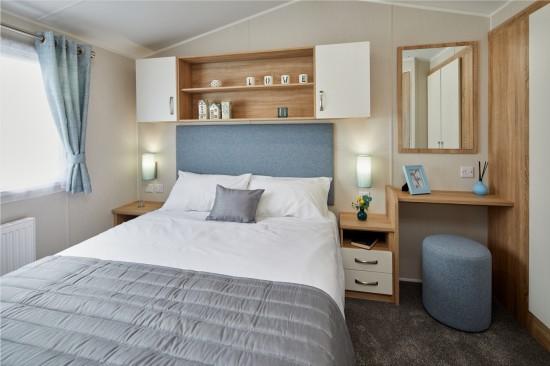 Master bedroom, Willerby Sierra